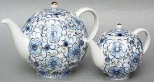 Bindweed Teapots - 2 pieces (Big and Small)