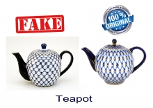 Imitation Fake Lomonosov Cobalt Net Porcelain