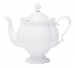 Lomonosov Imperial Porcelain Bone China Teapot