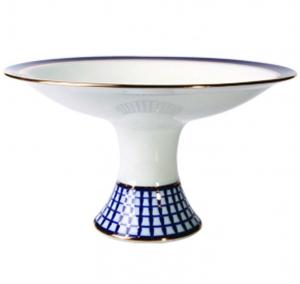 Lomonosov Imperial Porcelain Candy Vase Youth Classic of Petersburg 11.3