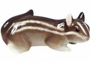 Chipmunk Lomonosov Imperial Porcelain Figurine #2