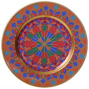 Decorative Wall Plate Mazarin Gothic #6 10.4