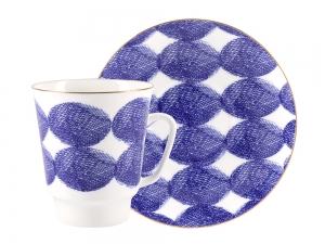 Lomonosov Bone China Porcelain Coffee Cup May Cosy