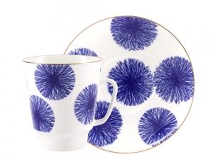 Lomonosov Bone China Porcelain Coffee Cup May Fresh