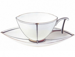 Lomonosov Imperial Porcelain Bona China Tea Cup and Saucer