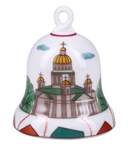 Lomonosov Imperial Porcelain Dinner Bell Saint Isaac's Square