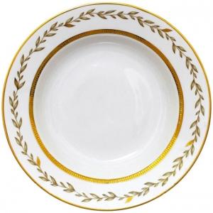 Lomonosov Imperial Porcelain Dinner Plate European Jade Background Flat 8.7