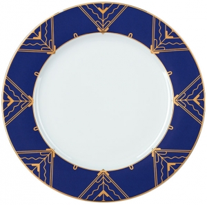 Lomonosov Imperial Porcelain Dinner Plate Kalevala 10.6 inches 270 mm