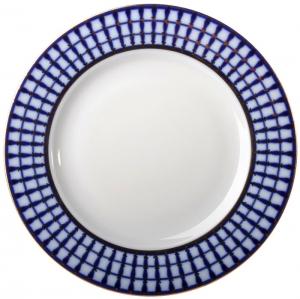 Lomonosov Imperial Porcelain Mazarin Dinner Plate Classic of Petersburg 10.4