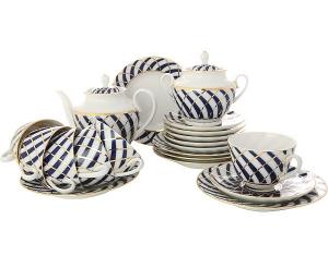 Lomonosov Imperial Porcelain Tea Set Spring Todes 6/21