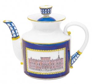 Lomonosov Imperial Porcelain Teapot