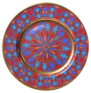 Decorative Wall Plate Mazarin Gothic #2 10.4