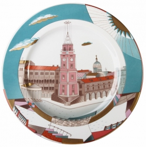 Decorative Wall Plate Nevsky av. St.Petersburg 10.4