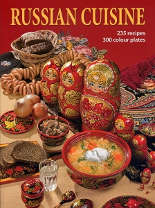Lomonosov Porcelain Book Russian Cuisine 235 recipes