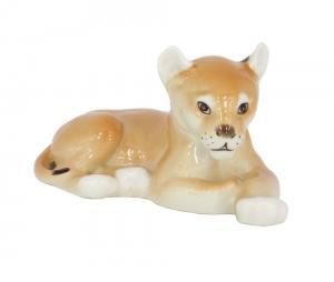 Lion Baby Lomonosov Imperial Porcelain Figurine