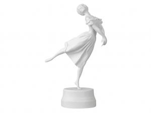 Russian Porcelain Collectible Figurine Sculpture Russian Ballerina Krasavina