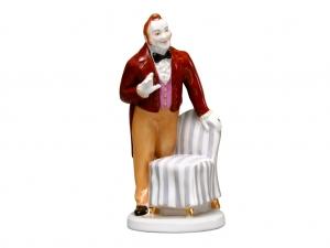 Porcelain Figurine Gogol Dead Souls CHICHIKOV