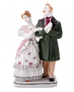 Porcelain Figurine Gogol Dead Souls MANILOVS