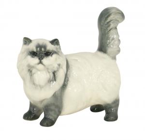 Persian Cat Beige Lomonosov Porcelain Figurine