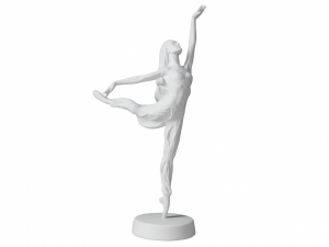 Collectible Figurine Sculpture Russian Ballerina Ulyana Lopatkina La Bayadère