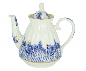 Lomonosov Imperial Porcelain Teapot Tenderness 25 oz/750 ml
