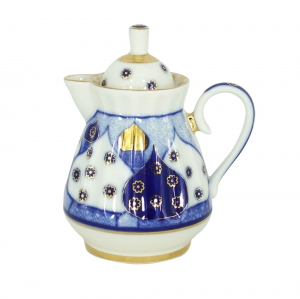 Lomonosov Imperial Porcelain Creamer Orthodox Church Bells 7.4 oz/220 ml