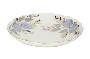 Lomonosov Imperial Porcelain Cake Сookie Biscuit Pastry Dish Moonlight 8.5