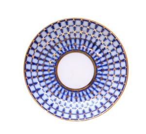 Imperial Porcelain Porcelain Jam Dish Classic of St-Petersburg 3.8