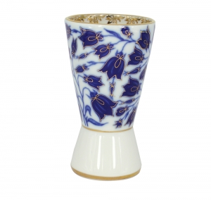 Lomonosov Porcelain Porcelain Napkin Holder Youth Blue Bells