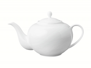 Lomonosov Porcelain Tea Pot Variation White 20.3 fl.oz/600 ml