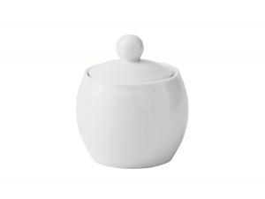 Lomonosov Porcelain Sugar Bowl Olympia White 8.5 fl.oz/250 ml