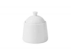 Lomonosov Porcelain Sugar Bowl Optima White 8.5 fl.oz/250 ml