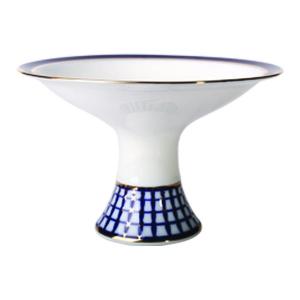 Lomonosov Imperial Porcelain Candy Vase Classic of Petersburg 7.3