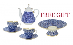 Mother's Day Offer: Lomonosov Porcelain Forget me Not Gift