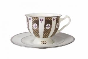 Aisedora Together Forever (1) 8.1 oz/240 ml Lomonosov Bone China Tea Set