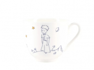 Little Prince and Rose Bone China Coffee Cup