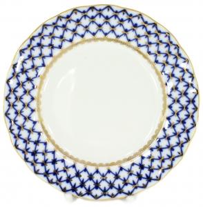Flat Plate Tulip Cobalt Net 10.7