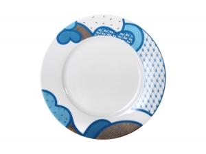 Lomonosov Porcelain Dinner Flat Plate Motive 10.4