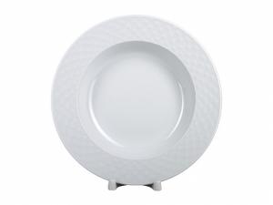 Lomonosov Porcelain Dinner Soup Plate European-2 Omega Net 8.9