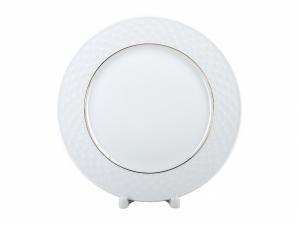 Lomonosov Porcelain Dinner Plate European-2 Golden Omega Net 8.5