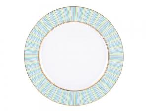 Lomonosov Porcelain Dinner Plate Dublin 10.6