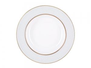 Lomonosov Porcelain Dinner Soup Plate Dublin