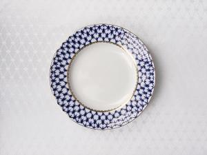Imperial Porcelain Lomonosov Tablecloth Cobalt Net 57