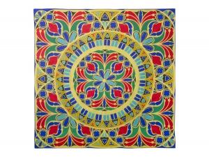 Lomonosov Russian Gift Set 100% Silk Scarf 35x35