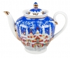Lomonosov Imperial Porcelain Tea Pot Spring Winter Fairytale 27 oz/800 ml