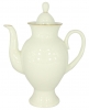 Lomonosov Imperial Porcelain Tea Pot Alexandria Recollection 27 oz/800 mlPorcelain Porcelain Bone China Coffee pot Classic-2 Golden Ribbon 21.3 fl.oz/630 ml