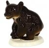 Brown Bear Walking Lomonosov Imperial Porcelain Figurine