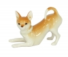 Chihuahua Dog Playing Lomonosov Imperial Porcelain Figurine