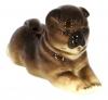 Chow Chow Dog Lomonosov Imperial Porcelain Figurine