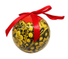 Christmas New Year Tree Decorative Ball Golden Khokhloma